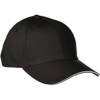 [プリントスター]帽子 メジャー ツイル キャップ 00712-MTC ブラック FREE サイズ