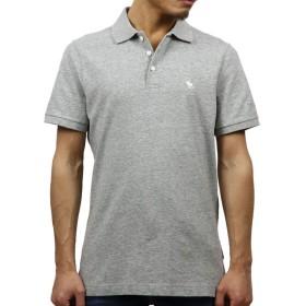 [アバクロ] Abercrombie&Fitch 正規品 メンズ 半袖ポロシャツ STRETCH ICON POLO 121-224-0809-122 S (コード:4110040202-2)
