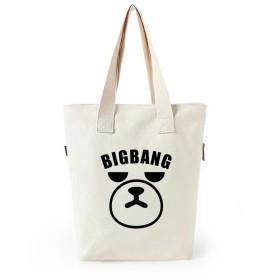 LiLing阿七 BIGBANG GD VIP ショルダーバッグ ズック 応援バッグ 周辺 韓流グッズ ハンドバッグ (1#)