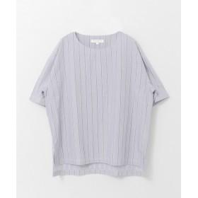 [アーバンリサーチ] ワイシャツ サテンストライプシャツTシャツ メンズ BLUE/ST M