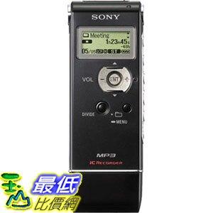 [107美國直購] 錄音筆 Sony ICD-UX81 Digital Voice Recorder with 2GB Flash Memory