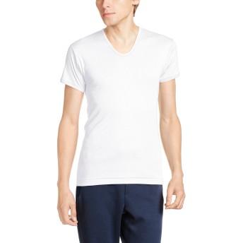 [グンゼ] インナーシャツ 快適工房 綿100% 半袖 U首 KH5016 メンズ ホワイト 日本S (日本サイズS相当)