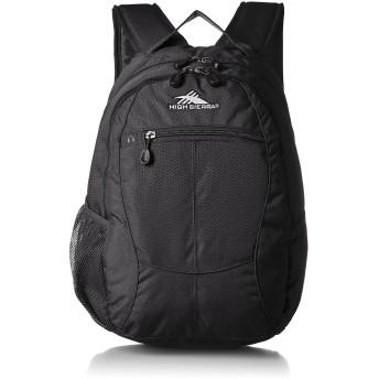 [ハイシェラ] バックパック 公式 カーブ ブラック/ブラック