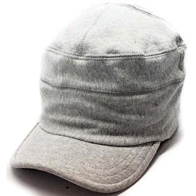 ノーブランド品 スウェットワークキャップ 帽子 SWEATWorkCap ワークキャップ ライトグレー