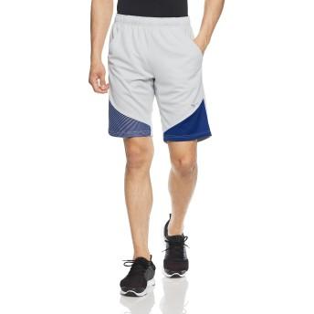 [ミズノ] トレーニングウェア アイスタッチ ウォームアップハーフパンツ ひんやり冷たい 涼感素材 男女兼用 32MD8121 04 シルバー XL
