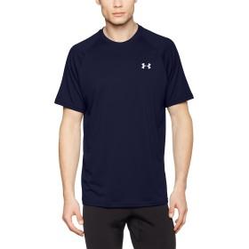 [アンダーアーマー] テックショートスリーブ(トレーニング/Tシャツ) 1228539 メンズ MDN/WHT 日本 XXL (日本サイズ2L相当)