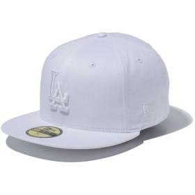 【メーカー取次】 NEW ERA MLB ロサンゼルス・ドジャース ホワイトXホワイト 11308595 キャップ(ホワイトXホワイト 表記7 5/8)