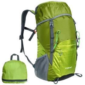 G4Free リュック 超軽量折りたたみ 登山用バッグ 35L 大容量 防災 防水 アウトドア 男女兼用