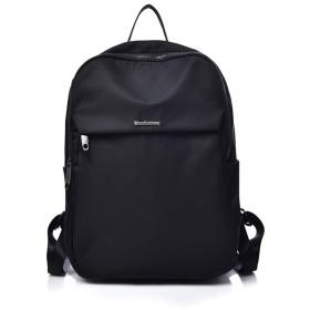 オックスフォード 布 バック ワイルド ミイラ ナイロン トラベル キャンバス 学生 バッグ ショルダーバッグ バッグ (色 : ブラック)
