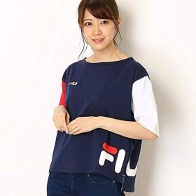フィラ(FILA) ショートTシャツ【ネイビー/M】