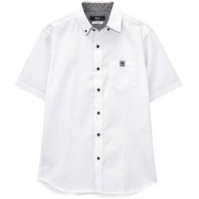 MOSSIMO(モッシモ) 半袖シャツ ボタンダウンシャツ 半袖 無地 9270-1410 メンズ ホワイト:XL