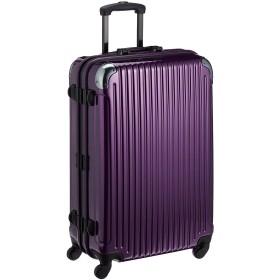 [ウィズインターナショナル] with international 軽量スーツケース【FWP-73C】71L 6.2kg 1年保証 ポリカーボネート100% (パープル)