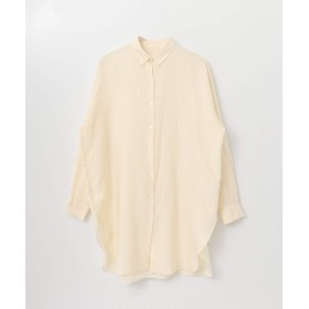 [アーバンリサーチ] シャツ ブラウス ロングチュニックシャツ レディース BEIGE FREE