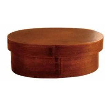 かのりゅう 家庭用食洗機対応 木製 スリム型曲げわっぱお弁当箱 スリ S17-3-10s