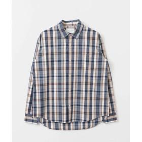 [アーバンリサーチ ドアーズ] ワイシャツ FORK&SPOON チェックレギュラーシャツ メンズ NAVY 5