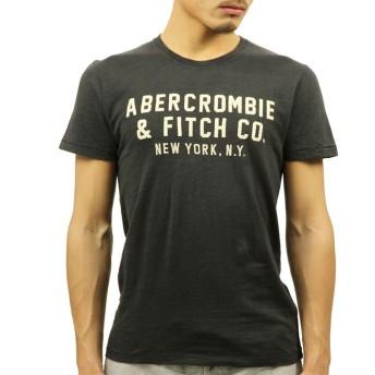 [アバクロ] Abercrombie&Fitch 正規品 メンズ 半袖Tシャツ APPLIQUE GRAPHIC TEE 123-238-2178-130 M 並行輸入品 (コード:4116250203-3)