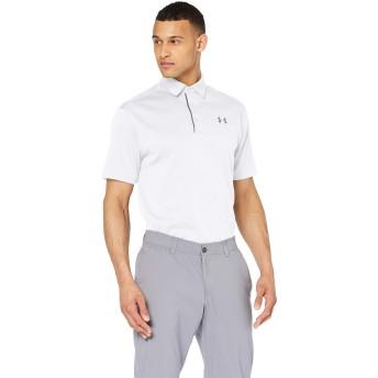 [アンダーアーマー] テックポロ(ゴルフ/ポロシャツ) 1290140 メンズ WHITE/GRAPHITE/GRAPHITE 日本 LG-(日本サイズL相当)