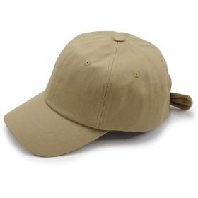 Aness (アネス) バックリボン キャップ SSキャップ ローキャップ cap レディース 綿 カジュアル 帽子 春 夏 p425 (ベージュ)