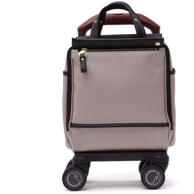 [ソエルテ] スーツケース カランド 機内持ち込み可 8L 2kg ベージュ