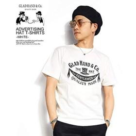 (グラッドハンド)GLAD HAND ADVERTISING HAT - T-SHIRTS -WHITE- gh-19-ms-10 WHITE L