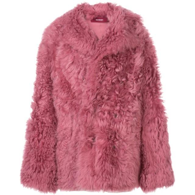 Sies Marjan fur coat - ピンク