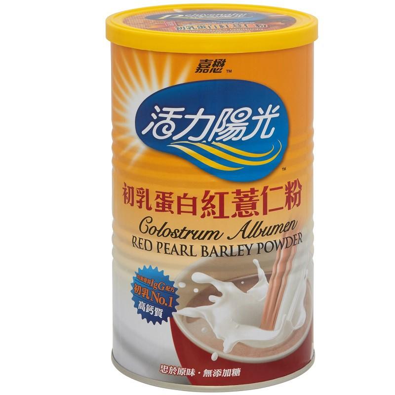 嘉懋 初乳蛋白紅薏仁粉 500g/罐