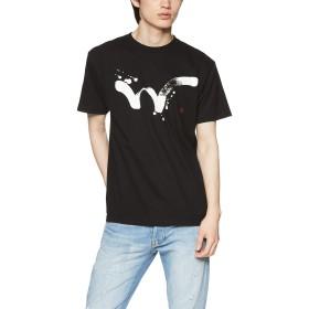 [エドウィン] Tシャツ 【EDWIN 】 毛筆W PRINT H/S TEE メンズ ブラック 日本 M (日本サイズM相当)