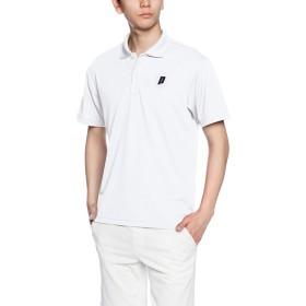 [プリンス] テニス シャツ TMU122T ホワイト (146) 日本 L (日本サイズL相当)