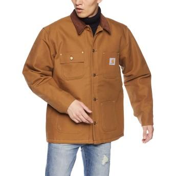 [カーハート] Carhartt Duck Chore Coat CRHTT-C001 メンズ BROWN US M (日本サイズL相当) [並行輸入品]