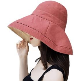 UVカット 帽子 ハット レディース 日よけ帽子 紫外線対策 2way 両面使えるワイヤーを加える 日焼け防止 熱中症予防 折りたたみ つば広 軽量 おしゃれ 可愛い 婦人用 ハット 旅行用 日よけ 日射し 海 夏季 女優帽 小顔効果抜群