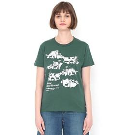 グラニフ(graniph) 【ユニセックス】ベーシックTシャツ(クランプオブツリー)【449モスグリーン/L】