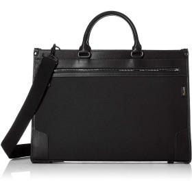 [シフレ] ビジネスバッグ コーデュラ素材使用 A4サイズ対応 ショルダーベルト付き シフレ ESC5082 ブラック/ブラック