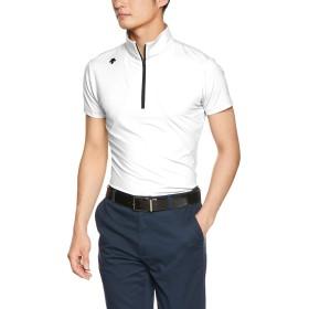[デサントゴルフ] ショートスリーブシャツ DGMNJA03 メンズ WH00(ホワイト) 日本 O (日本サイズ2L相当)
