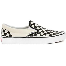 (バンズ) VANS メンズ シューズ・靴 スニーカー Black and White Check Slip-Ons 並行輸入品