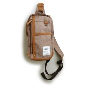(アネロ) anello ボディバッグ バッグ ショルダーバッグ 容量4L 一泊旅行 高さ29cm×横15cm×マチ9cm/-01 BE/ベージュ