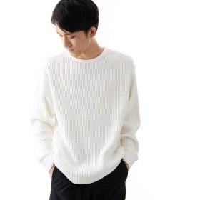 [ワークノットワーク] tシャツ ビッグワッフルスウェットシャツ メンズ OFF L