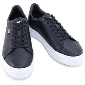 [イーエーセブン] EMPORIO ARMANI EA7 靴 メンズ スニーカー ブラック (248005 7A299 00020 BLACK) 7サイズ ブラック [並行輸入品]