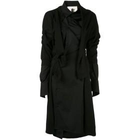 Aganovich デコンストラクテッド シャツドレス - ブラック