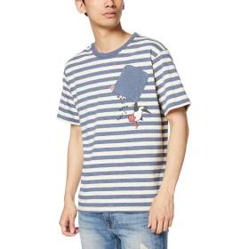 [チャムス] Tシャツ Booby Hang On T-Shirt Navy/Natural 日本 M (日本サイズM相当)
