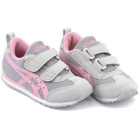 [アシックス スクスク] 女の子 男の子 キッズ 子供靴 運動靴 通学靴 ランニングシューズ スニーカー メキシコ ナロー ミニ 4 ストラップ MEXICO NARROW MINI 4 1144A007 G/P 18.0cm