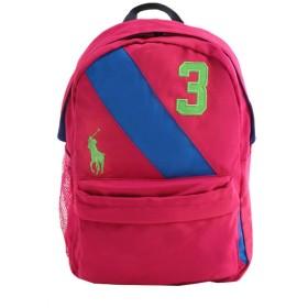 (ポロ ラルフローレン) POLO RALPH LAUREN リュックサック Banner Stripe 2 Backpack フューシャ 950081A MD