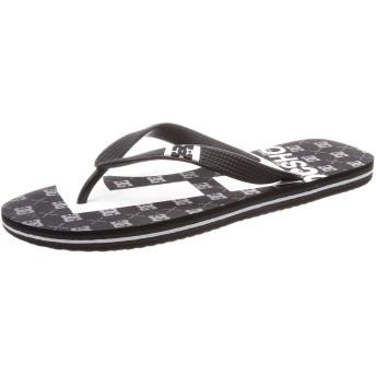[ディーシー] サンダル スプレーグラフィック メンズ ブラック US 8(26 cm) 2E