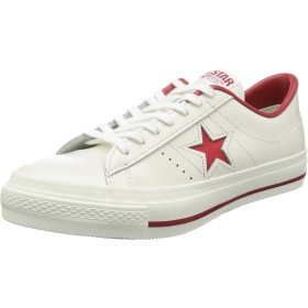 [コンバース] ONE STAR J WHT/RED 24 cm