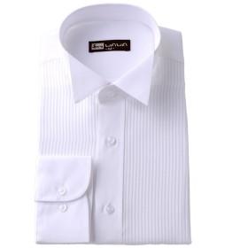 (ワワジャパン)WAWAJAPAN 結婚式に使えるウイングカラーシャツ L K-1(シングルカフス)