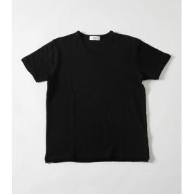 [アズールバイマウジー] tシャツ 【MEN'S】STRIPE HALF SLEEVE TEE 251CSM80-276E S ブラック メンズ