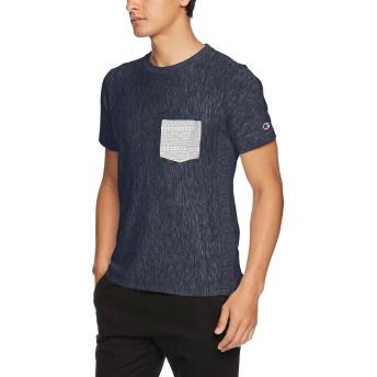 [チャンピオン] リバースウィーブ Tシャツ C3-M301 メンズ ダークネイビー 日本 L (日本サイズL相当)
