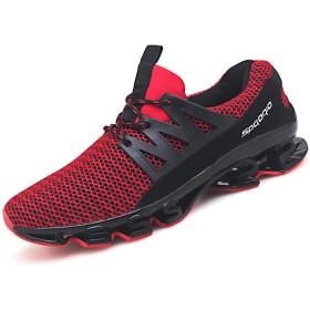 [チャンピオン靴店] メンズファッションアスレチックシューズ軽量ランニングシューズ 24.5cm 赤