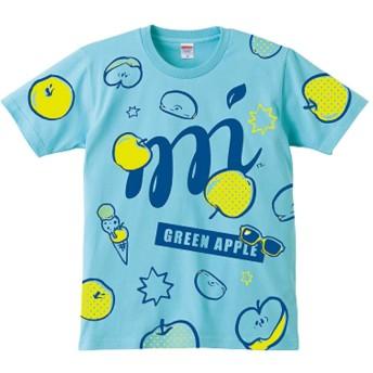 Mrs. GREEN APPLE (ミセスグリーンアップル) 【 Tシャツ 】 MGA Crazy T-Shirt / Aqua×Yellow Mサイズ