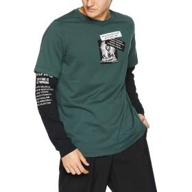 (ディーゼル) DIESEL メンズ Tシャツ 長そでTシャツ 00SNRB0091A S ダークグレー 5HZ
