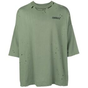 Unravel Project ダメージ Tシャツ - グリーン